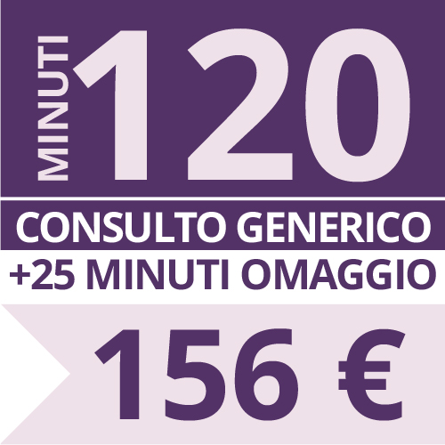 Consulto Cartomanzia 120 minuti - Studio Lorella