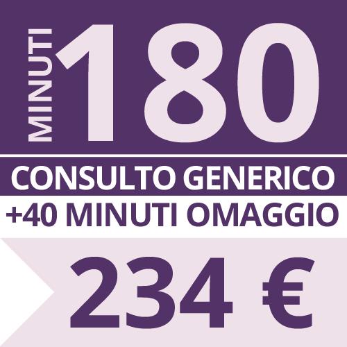 Consulto Cartomanzia 180 minuti - Studio Lorella
