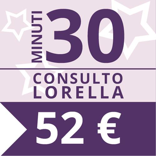 Consulto Cartomanzia 30 minuti con Lorella - Studio Lorella